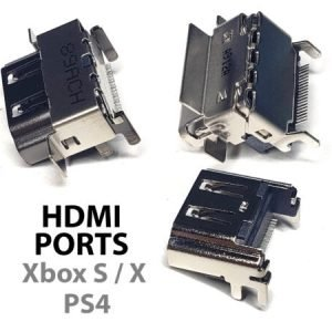 HDMI Ports for Xbox One S | Xbox One X and PS4 Game Consoles
